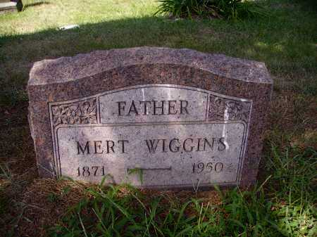 WIGGINS, MERT UDEL - Meigs County, Ohio | MERT UDEL WIGGINS - Ohio Gravestone Photos