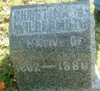 WILDERMUTH, CHRISTINA M. - Meigs County, Ohio | CHRISTINA M. WILDERMUTH - Ohio Gravestone Photos
