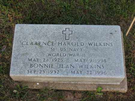 WILKINS, CLARENCE HAROLD - Meigs County, Ohio | CLARENCE HAROLD WILKINS - Ohio Gravestone Photos