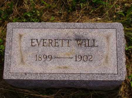 WILL, EVERETT - Meigs County, Ohio | EVERETT WILL - Ohio Gravestone Photos