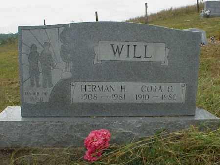 WILL, CORA O. - Meigs County, Ohio | CORA O. WILL - Ohio Gravestone Photos