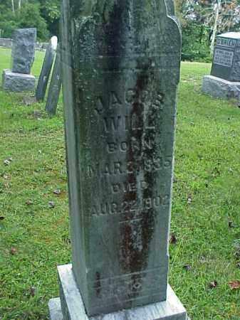 WILL, JACOB - Meigs County, Ohio | JACOB WILL - Ohio Gravestone Photos