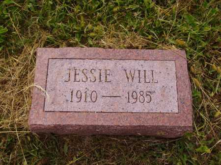WILL, JESSIE - Meigs County, Ohio | JESSIE WILL - Ohio Gravestone Photos