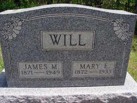 WILL, MARY E - Meigs County, Ohio | MARY E WILL - Ohio Gravestone Photos