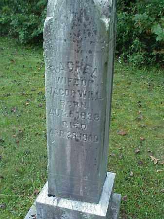 WILL, RACHEL - Meigs County, Ohio | RACHEL WILL - Ohio Gravestone Photos