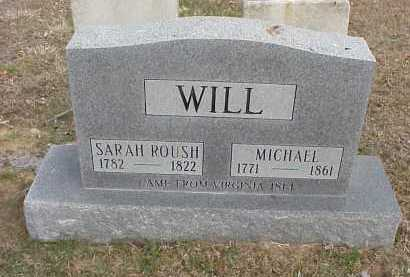 WILL, SARAH - Meigs County, Ohio | SARAH WILL - Ohio Gravestone Photos