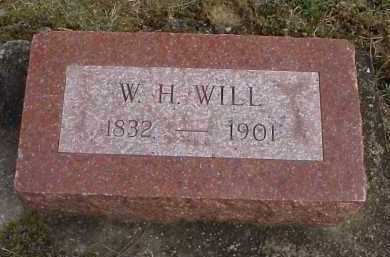 WILL, W.H. - Meigs County, Ohio | W.H. WILL - Ohio Gravestone Photos