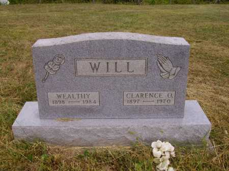 WILL, WEALTHY - Meigs County, Ohio | WEALTHY WILL - Ohio Gravestone Photos