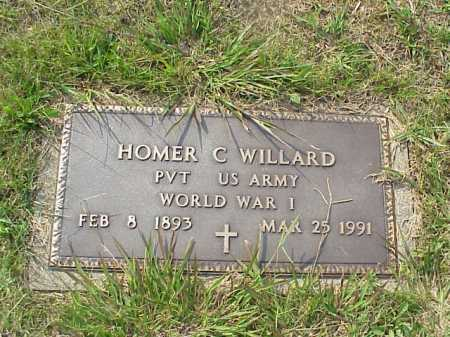 WILLARD, HOMER C. - Meigs County, Ohio | HOMER C. WILLARD - Ohio Gravestone Photos
