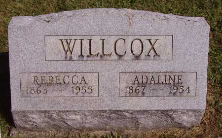 WILLCOX, ADALINE - Meigs County, Ohio | ADALINE WILLCOX - Ohio Gravestone Photos