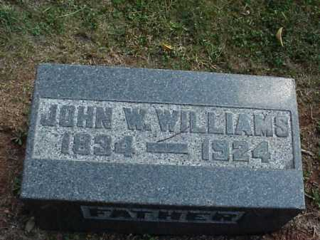 WILLIAMS, JOHN W. - Meigs County, Ohio | JOHN W. WILLIAMS - Ohio Gravestone Photos
