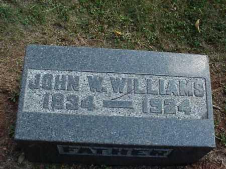 WILLIAMS, JOHN W. - Meigs County, Ohio | JOHN W. WILLIAMS - Ohio Gravestone Photos