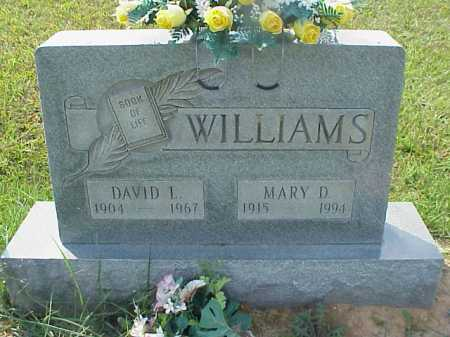 WILLIAMS, MARY D. - Meigs County, Ohio | MARY D. WILLIAMS - Ohio Gravestone Photos