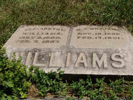 WILLIAMS, B. S. - Meigs County, Ohio | B. S. WILLIAMS - Ohio Gravestone Photos