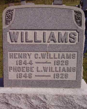 WILLIAMS, PHOEBE L. - Meigs County, Ohio | PHOEBE L. WILLIAMS - Ohio Gravestone Photos