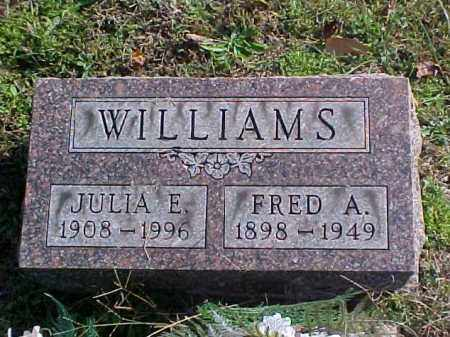 WILLIAMS, FRED A. - Meigs County, Ohio | FRED A. WILLIAMS - Ohio Gravestone Photos