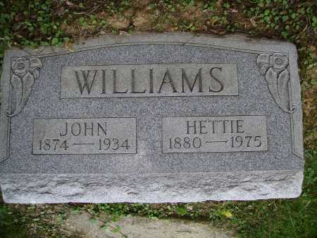 WILLIAMS, HETTIE - Meigs County, Ohio | HETTIE WILLIAMS - Ohio Gravestone Photos