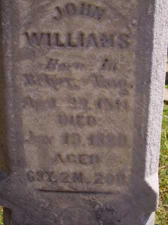 WILLIAMS, JOHN - CLOSEVIEW - Meigs County, Ohio | JOHN - CLOSEVIEW WILLIAMS - Ohio Gravestone Photos