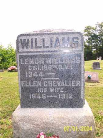 WILLIAMS, LEMON - Meigs County, Ohio | LEMON WILLIAMS - Ohio Gravestone Photos