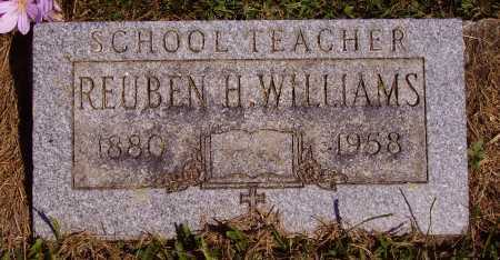 WILLIAMS, REUBEN H. - Meigs County, Ohio | REUBEN H. WILLIAMS - Ohio Gravestone Photos