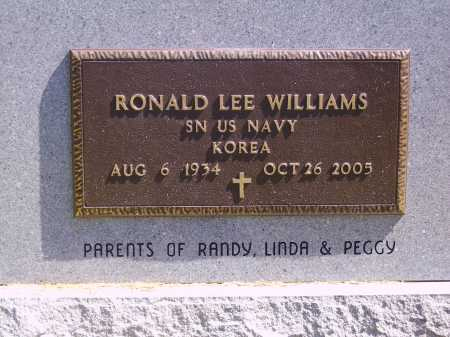WILLIAMS, RONALD LEE - BACK & MILITARY - Meigs County, Ohio | RONALD LEE - BACK & MILITARY WILLIAMS - Ohio Gravestone Photos