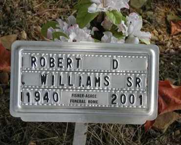 WILLIAMS, SR., ROBERT D. - Meigs County, Ohio | ROBERT D. WILLIAMS, SR. - Ohio Gravestone Photos