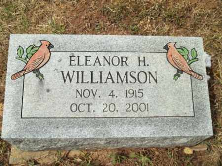 HILL WILLIAMSON, ELEANOR - Meigs County, Ohio | ELEANOR HILL WILLIAMSON - Ohio Gravestone Photos
