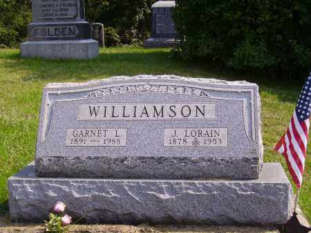 WILLIAMSON, GARNET L. - Meigs County, Ohio | GARNET L. WILLIAMSON - Ohio Gravestone Photos