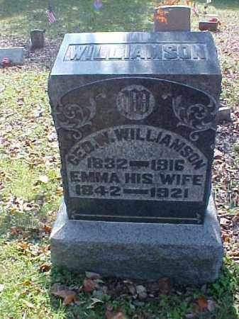 WILLIAMSON, GEORGE W. - Meigs County, Ohio | GEORGE W. WILLIAMSON - Ohio Gravestone Photos