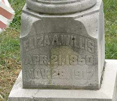 WILLIS, ELIZA A. - Meigs County, Ohio | ELIZA A. WILLIS - Ohio Gravestone Photos