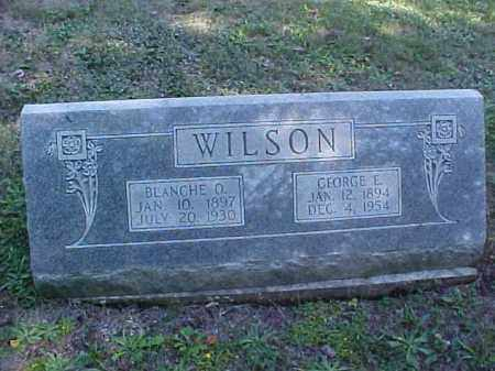 WILSON, GEORGE E. - Meigs County, Ohio | GEORGE E. WILSON - Ohio Gravestone Photos