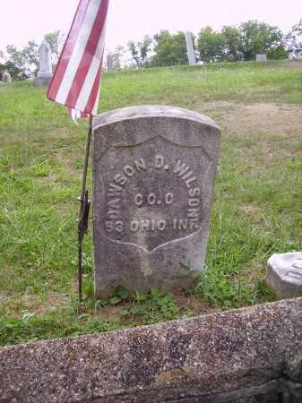 WILSON, DAWSON D. - Meigs County, Ohio | DAWSON D. WILSON - Ohio Gravestone Photos