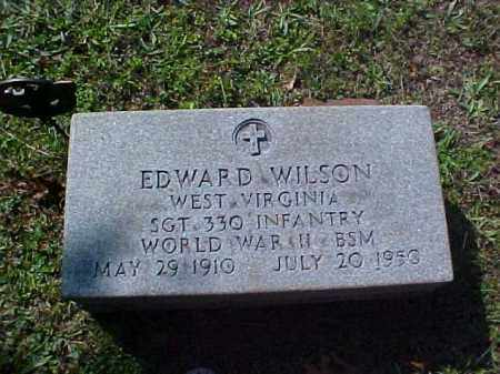WILSON, EDWARD - Meigs County, Ohio | EDWARD WILSON - Ohio Gravestone Photos