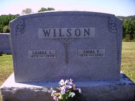 GRAHAM WILSON, EMMA V. - Meigs County, Ohio | EMMA V. GRAHAM WILSON - Ohio Gravestone Photos