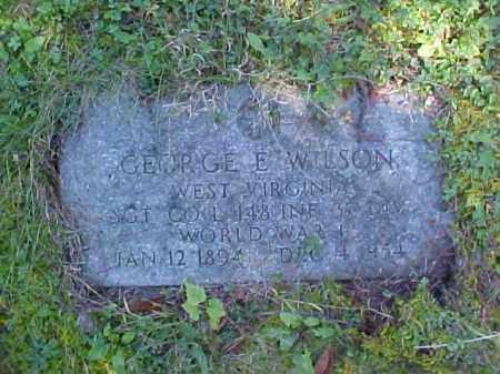 WILSON, GEORGE E. - Meigs County, Ohio | GEORGE E. WILSON - Ohio Gravestone Photos