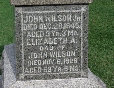 WILSON, JOHN JR. - Meigs County, Ohio | JOHN JR. WILSON - Ohio Gravestone Photos