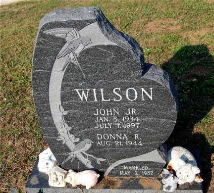 WILSON, DONNA R - Meigs County, Ohio | DONNA R WILSON - Ohio Gravestone Photos