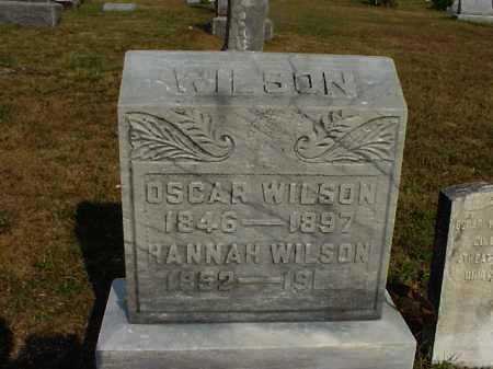 VONSCHRILTZ WILSON, HANNAH - Meigs County, Ohio | HANNAH VONSCHRILTZ WILSON - Ohio Gravestone Photos