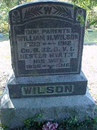 WILSON, WILLIAM H. - Meigs County, Ohio | WILLIAM H. WILSON - Ohio Gravestone Photos
