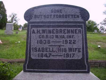 WINEBRENNER, ISABELL - Meigs County, Ohio | ISABELL WINEBRENNER - Ohio Gravestone Photos