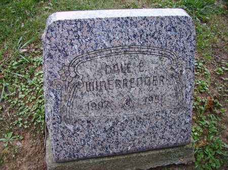 WINEBRENNER, DALE E. - Meigs County, Ohio | DALE E. WINEBRENNER - Ohio Gravestone Photos