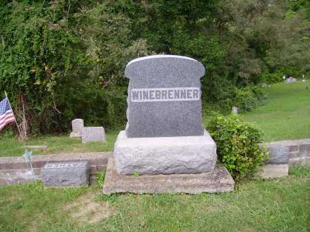 WINEBRENNER, MONUMENT - Meigs County, Ohio | MONUMENT WINEBRENNER - Ohio Gravestone Photos