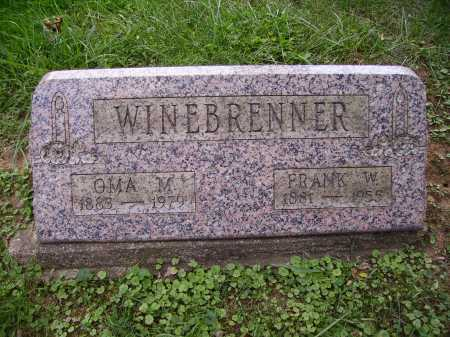 WINEBRENNER, OMA M. - Meigs County, Ohio | OMA M. WINEBRENNER - Ohio Gravestone Photos