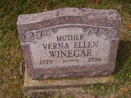 WINEGAR, VERNA ELLEN - Meigs County, Ohio   VERNA ELLEN WINEGAR - Ohio Gravestone Photos