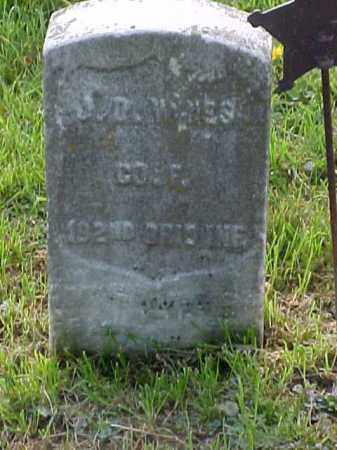 WINES, J. D. - Meigs County, Ohio | J. D. WINES - Ohio Gravestone Photos