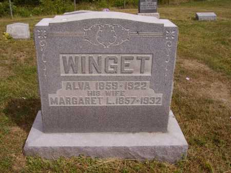 WINGET, MARGARET L. - Meigs County, Ohio | MARGARET L. WINGET - Ohio Gravestone Photos