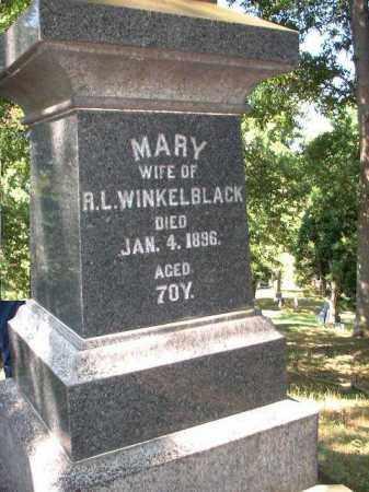 WINKELBLACK, MARY - Meigs County, Ohio | MARY WINKELBLACK - Ohio Gravestone Photos