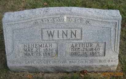 WINN, NEHEMIAH - Meigs County, Ohio | NEHEMIAH WINN - Ohio Gravestone Photos