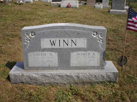 WINN, CARRIE M. - Meigs County, Ohio | CARRIE M. WINN - Ohio Gravestone Photos