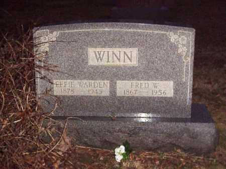 WINN, FRED W. - Meigs County, Ohio | FRED W. WINN - Ohio Gravestone Photos